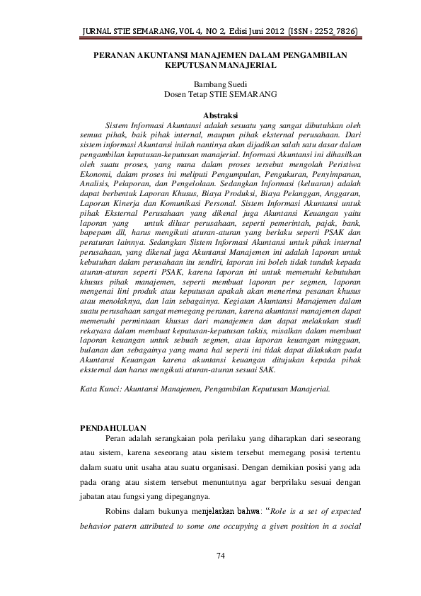 Jurnal Akuntansi Manajemen Pdf