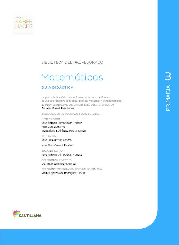 PdfPrimaria Didáctica Biblioteca Del Guía Matemáticas Profesorado XZiuPkO