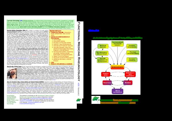 PDF) Functional Medicine Rheumatology v3 5 | Alex Vasquez