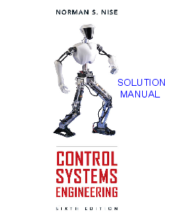 Pdf Nise Control Systems Engineering 6th Ed Solutions Pdf Sitthiloet Ukrijerthan Academia Edu