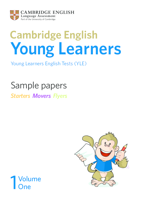 PDF) Sample papers Young Learners English Tests (YLE) Young