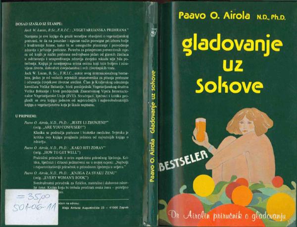 (PDF) Paavo O Airola Gladovanje uz sokove | Goran Velemir