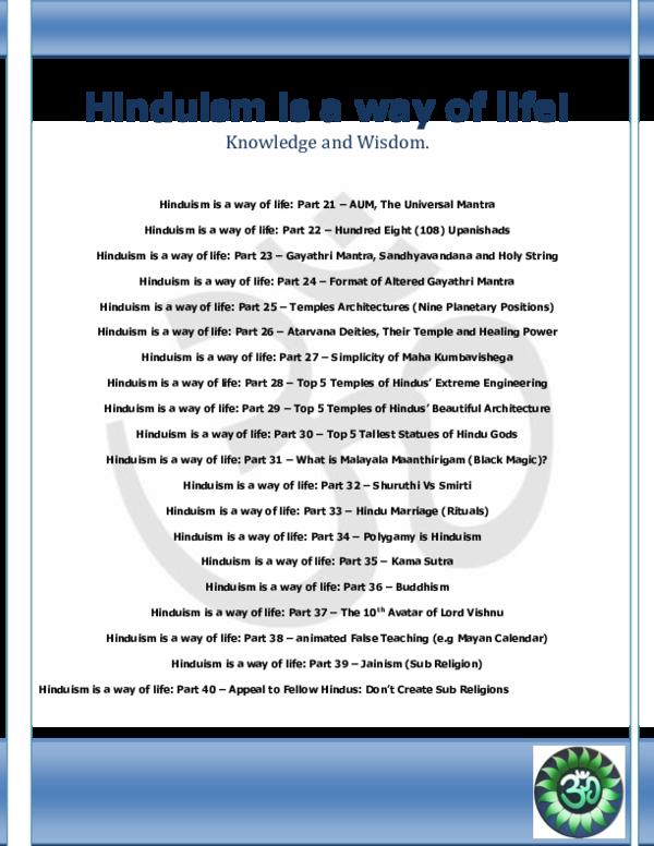 PDF) Hinduism is a way of life 2   Nachimani Charde - Academia edu
