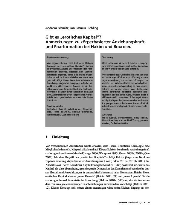Erotisches kapital pdf