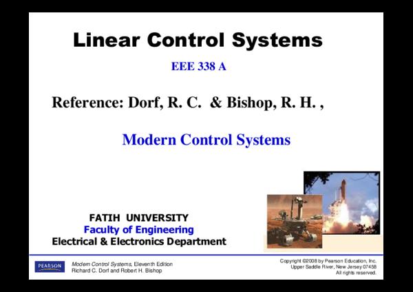 System c dorf control by pdf richard modern