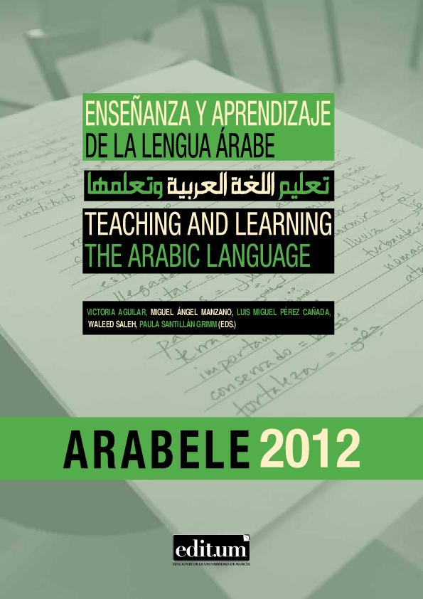 414a5d43f943e PDF) Arabele2012  Enseñanza y aprendizaje de la lengua árabe ...