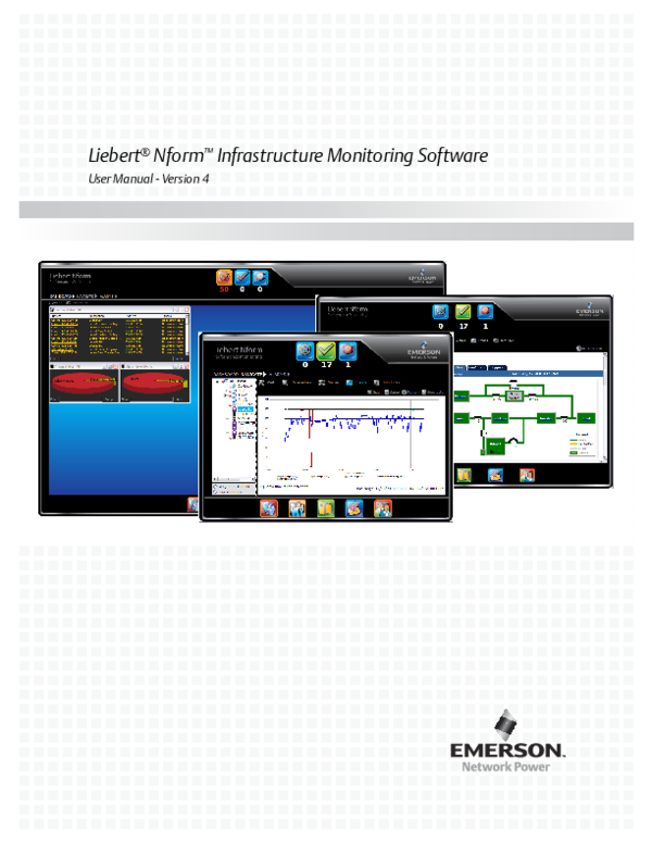 PDF) Infrastructure Monitoring Software User Manual -Version