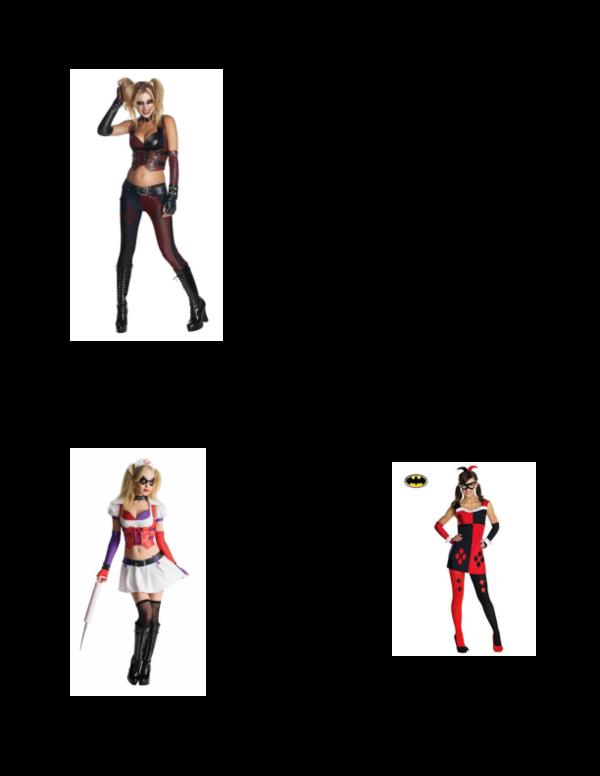 Pdf Harley Quinn Costume Arkam City Lu Pruss Academia Edu