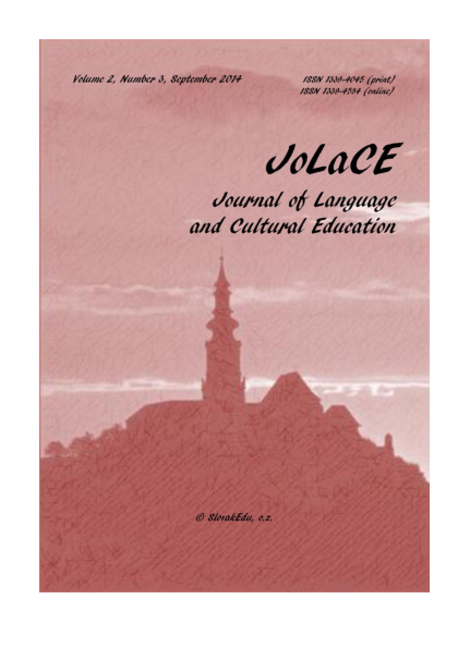 Journal of Language and Cultural Education - 2014/3 (complete issue