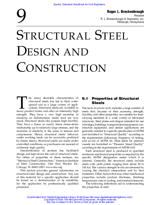 PDF) STRUCTURAL STEEL DESIGN AND CONSTRUCTION | Jaka Milyadi