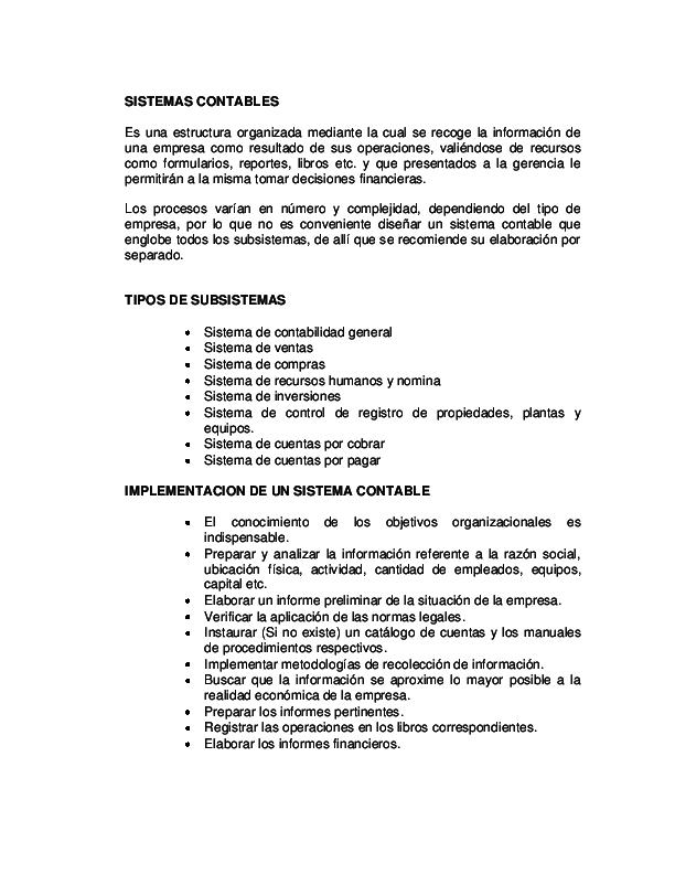 Pdf Sistemas Contables Lisbeth Puentes Academia Edu
