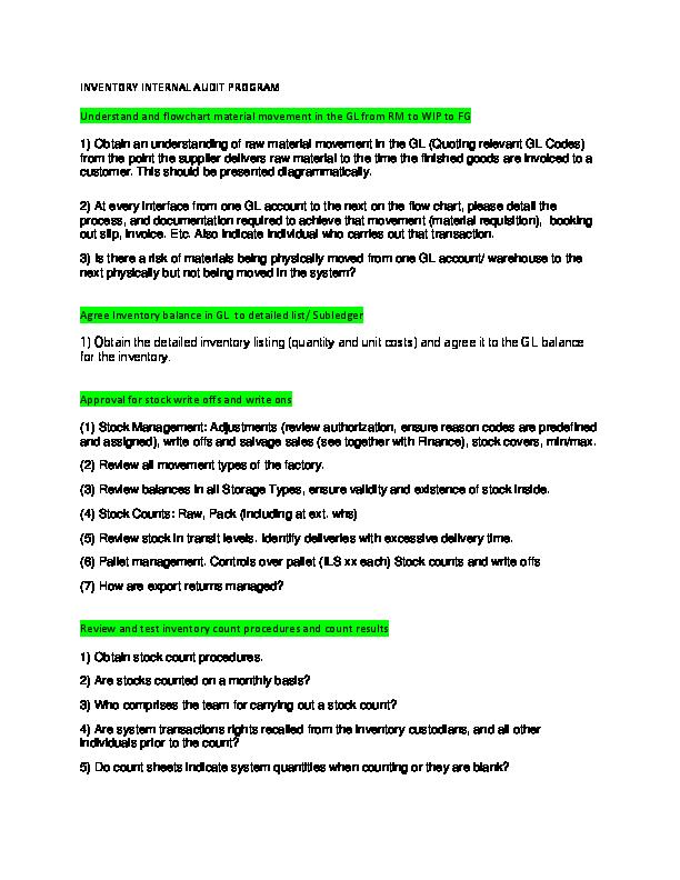 Warehouse Receiving Procedures Flowchart