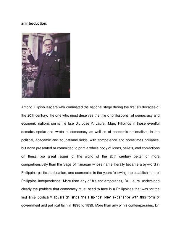 Roxas tagalog ni manuel talambuhay Ano ang