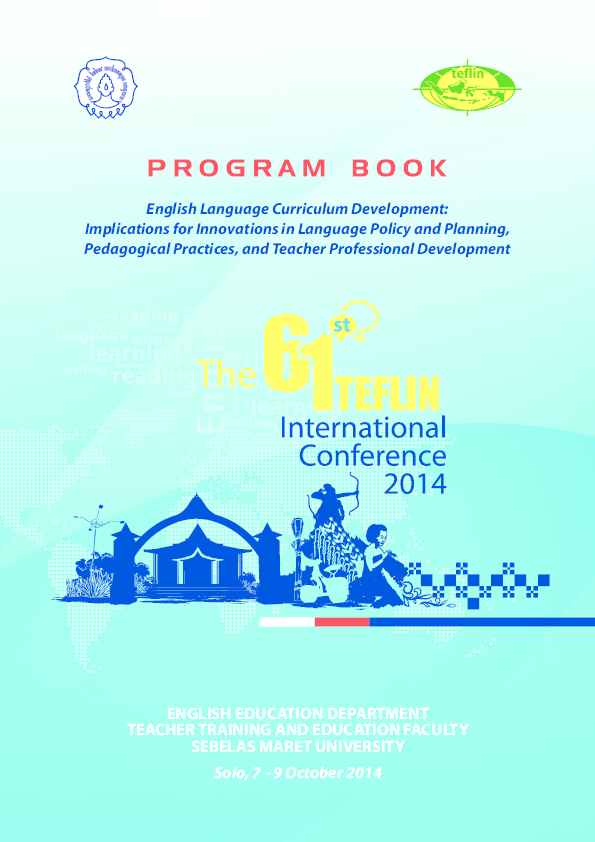 PDF) The 61st TEFLIN International Conference 2014  organized by