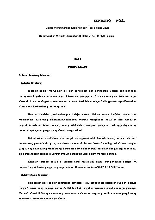 Doc Yunianto No Pak Yunianto Academia Edu
