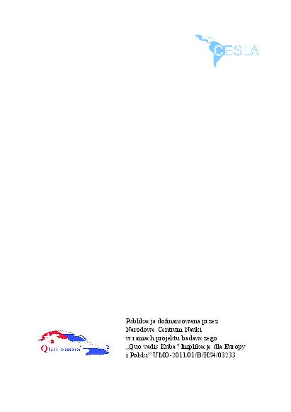 Pdf Relacje Polska Kuba Historia I Współczesność Ed