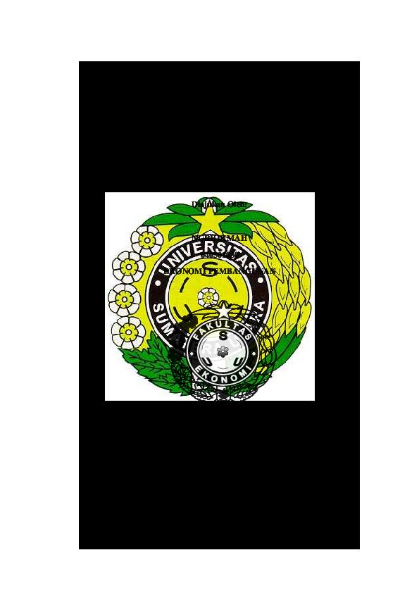 Pdf Ekonomi Pembangunan Triastuti Dewi Kusumawati Academia Edu