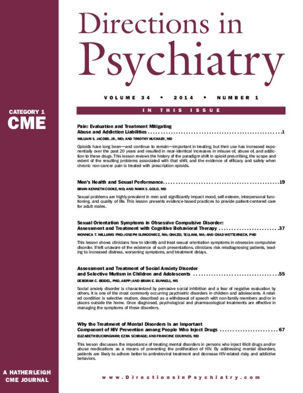 PDF) Sexual Orientation Symptoms in Obsessive Compulsive