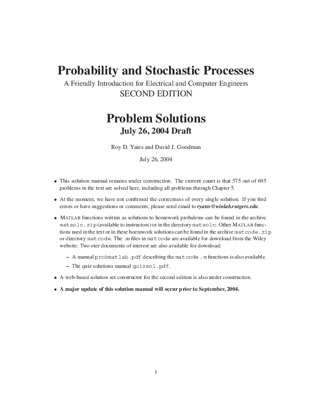 PDF) Probability-and-Stochastic-Processes-2nd-Roy-D-Yates
