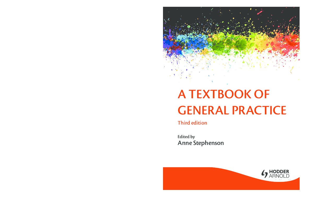 PDF) A TEXTBOOK OF GENERAL PRACTICE A TEXTBOOK OF GENERAL