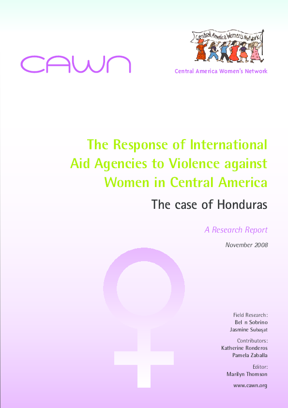 Honduras 2008 transvestite prostitutes in