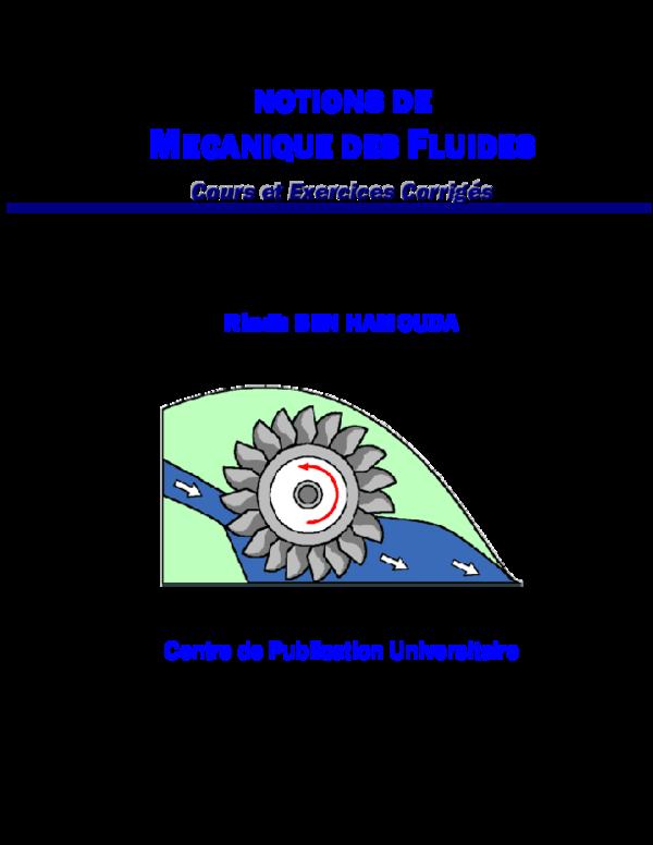 (PDF) NOTIONS DE MECANIQUE DES FLUIDES   Sissouma Bity ...