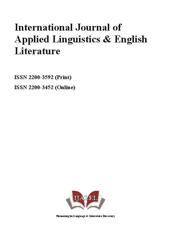 3f43309d344ce PDF) IJALEL, Vol.3 No.3 (2014) | International Journal of Applied ...