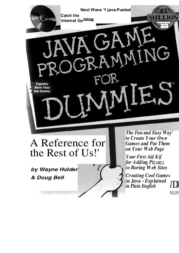 PDF) Java Game Programming for Dummies   DOm K - Academia edu