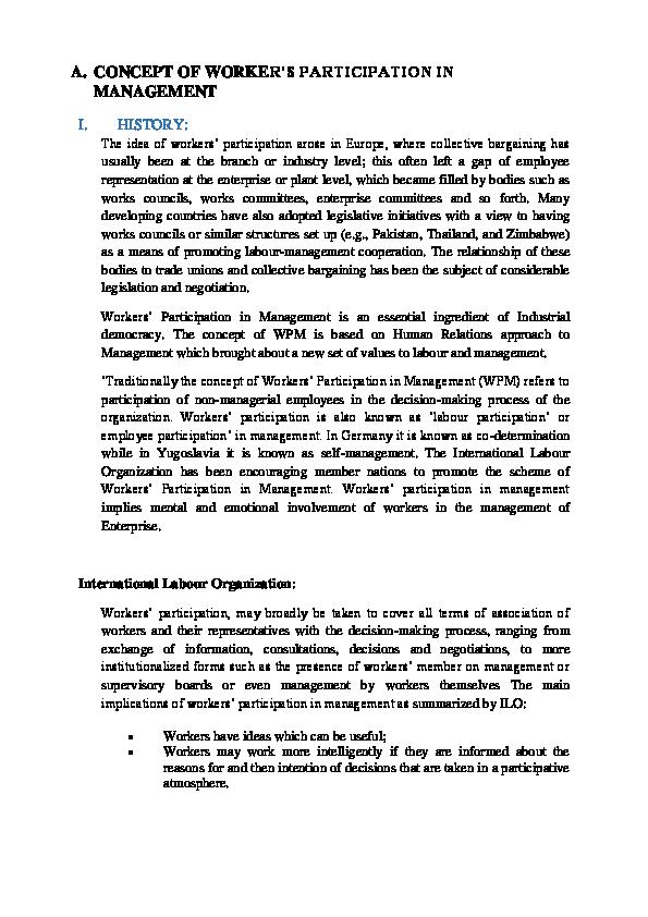 salient features of industrial dispute act 1947