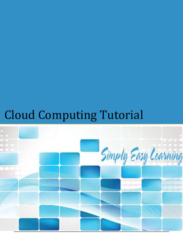 Pdf Cloud Computing Tutorial Joshua Adeleye Academia Edu