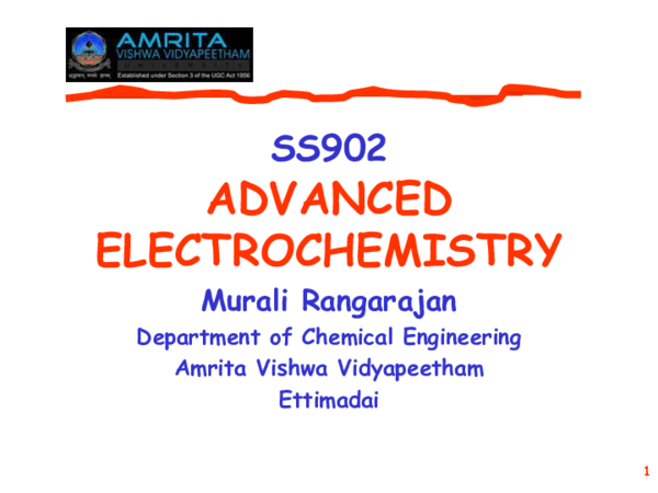 PPT) Advanced Electrochemistry | Professor Dr  Loutfy H