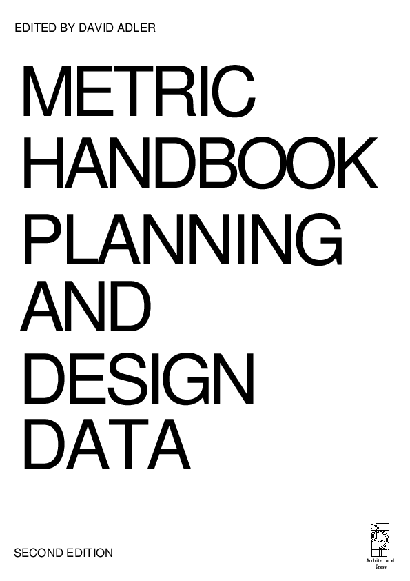 PDF) [Architecture Ebook] Metric Handbook Planning and
