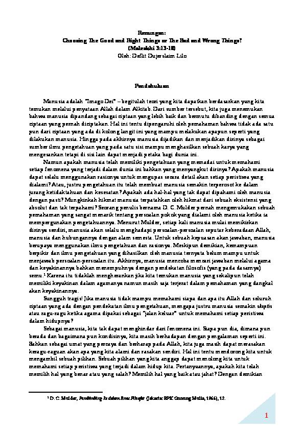 Kristen pdf khotbah