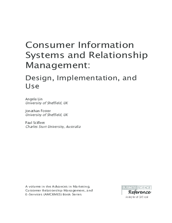 Pdf Constantinides E 2013 Social Media Marketing Challenges And Opportunities In The Web 2 0 Marketplace In Consumer Information Systems And Relationship Management Design Implementation And Use Igi Global 51 73 Efthymios Constantinides
