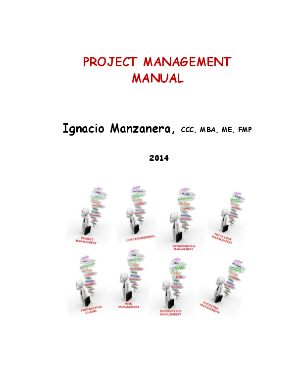 Pdf Project Management Manual Ignacio Manzanera Academia Edu