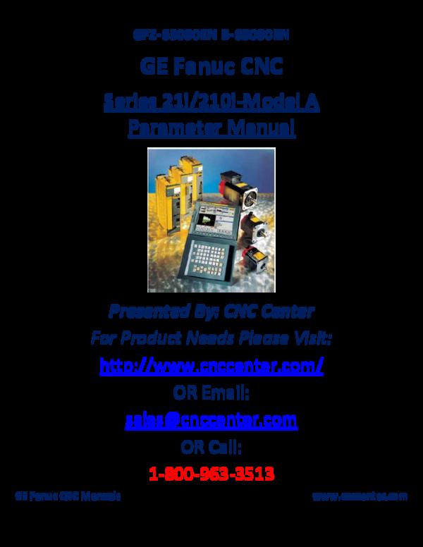 PDF) GFZ-63090EN B-63090EN GE Fanuc CNC Series 21i/210i-Model A