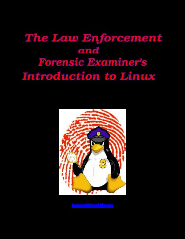 PDF) APractitioner'sGuidetoLinuxasaComputer ForensicPlatform