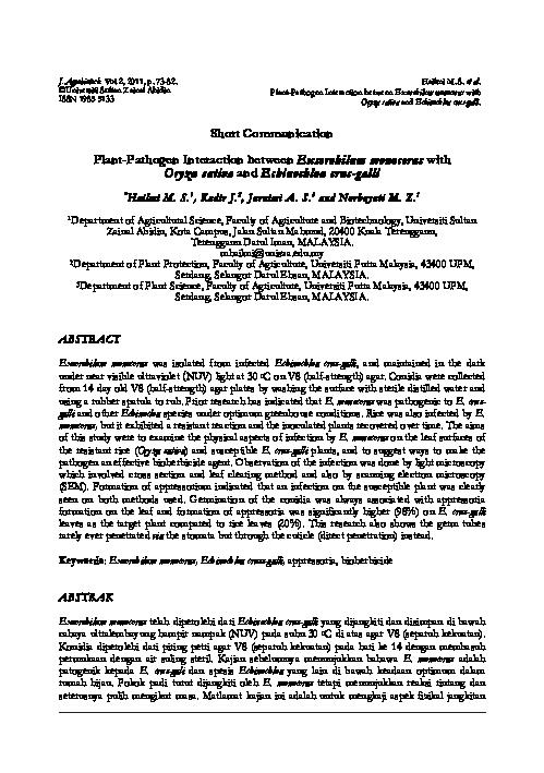 helminthosporium monoceras totul despre viermi și tratamentul lor