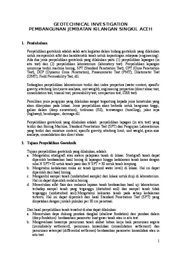Doc Daya Dukung Tanah Origen Pasaribu Academia Edu