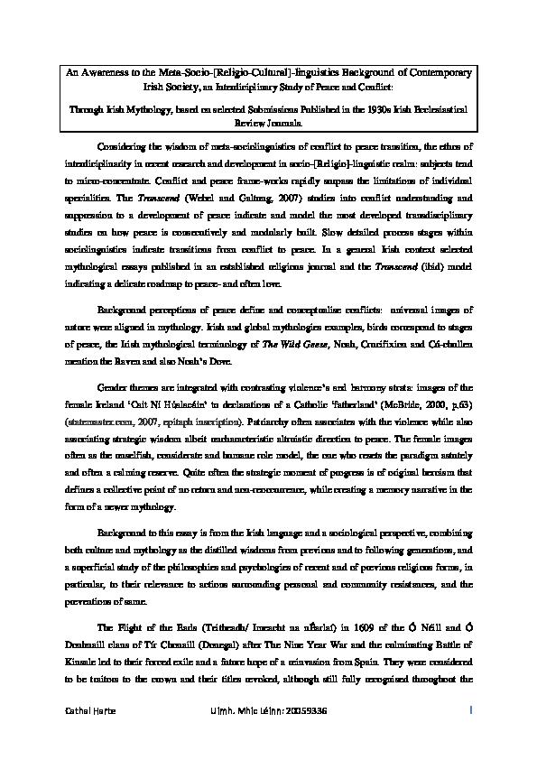 PDF) An Awareness to the Meta-Socio-[Religio-Cultural