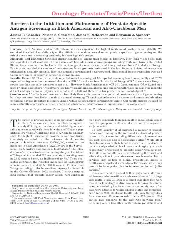 PDF) Gonzalez, J , Consedine, N  S , McKiernan, J  M