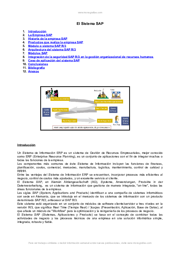 Doc El Sistema Sap Ricardo Espinal Academia Edu