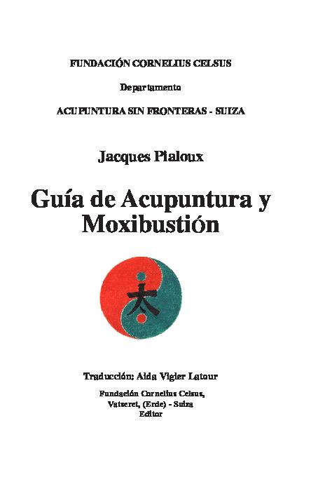 Pdf Guia De Acupuntura Clara Velez Academia Edu