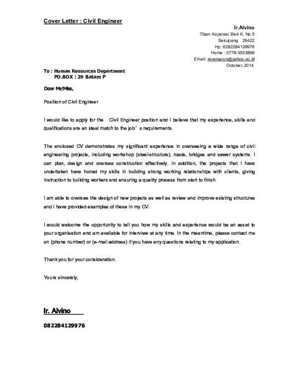 50+ Best Cover Letter In Pdf  That Wow