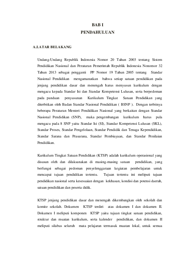 Doc Kurikulum Ktsp 2014 Revisi Jayadi Jay Academia Edu