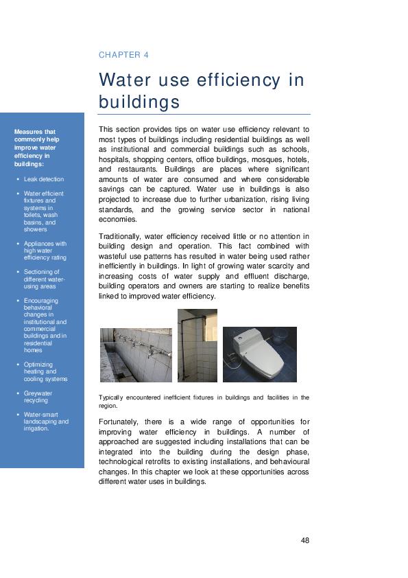 PDF) 5Chapter 4 water use efficency in buildings | Wincy Wan