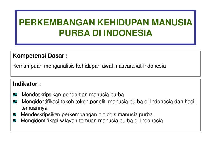 Pdf Manusia Purba Roni Kuncoro Academia Edu
