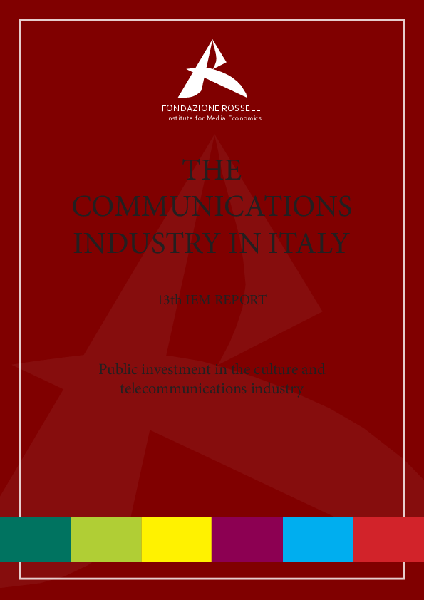 PDF) Public investment in the culture and telecommunications