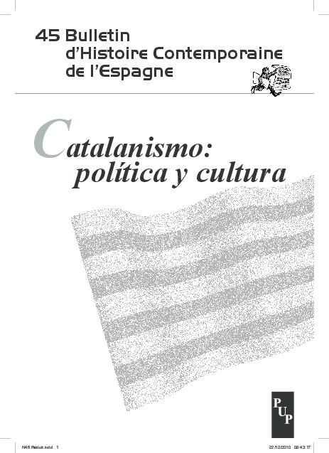 Pdf Protectionnisme Culturel Et Catalanisme Les