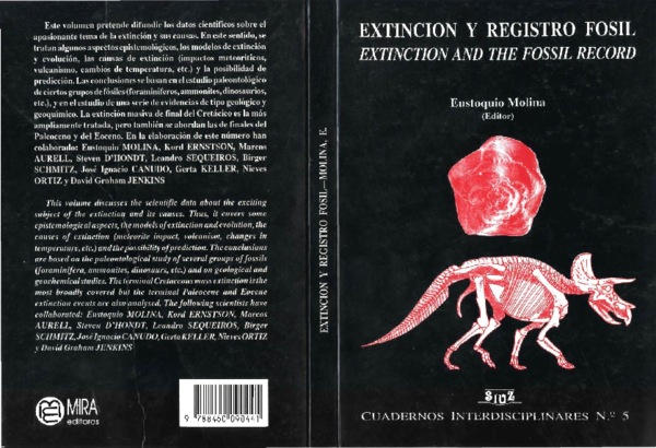 PDF) Extinción y registro fósil. Extinction and the fossil record ...